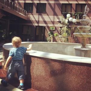 В больнице у фонтана